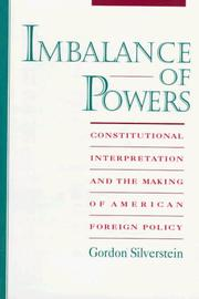 Imbalance of Powers by Gordon Silverstein