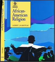 Cover of: African American-religion [sic]