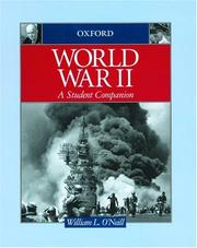 Cover of: World War II | William L. O