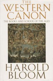 Cover of: The Western canon | Harold Bloom