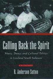 Cover of: Calling Back the Spirit | R. Anderson Sutton