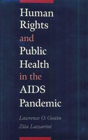 Cover of: Human rights and public health in the AIDS pandemic