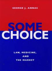 Cover of: Some choice