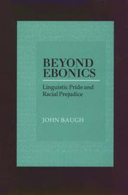 Cover of: Beyond Ebonics