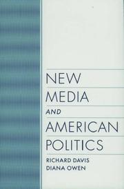 Cover of: New media and American politics