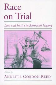 Cover of: Race on Trial | Annette Gordon-Reed