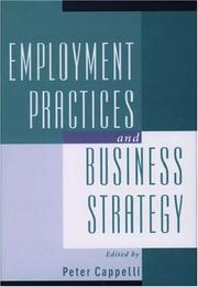 Cover of: Employment practices and business strategy by
