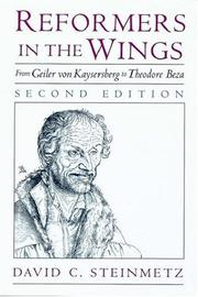 Cover of: Reformers in the wings