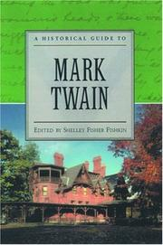 Cover of: A historical guide to Mark Twain by