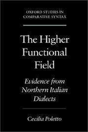 Cover of: The higher functional field