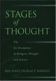 Cover of: Stages of Thought | Michael Horace Barnes