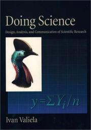 Cover of: Doing science