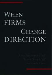 Cover of: When Firms Change Direction | Anne Sigismund Huff