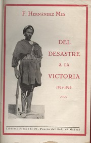 Del desastre a la victoria (1921-1926)