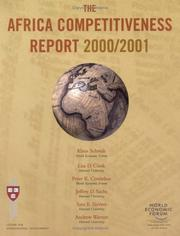 Cover of: The Africa Competitiveness Report 2000/2001 (World Economic Forum) | World Economic Forum.
