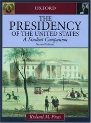 Cover of: The presidency of the United States