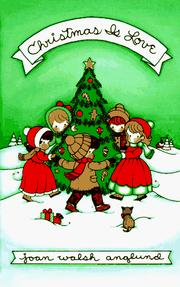 Cover of: Christmas is love