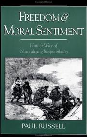 Cover of: Freedom and Moral Sentiment | Paul Russell