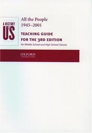 Cover of: A History of US: Book 10
