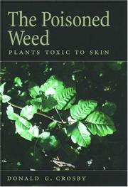 Cover of: The Poisoned Weed | Donald G. Crosby