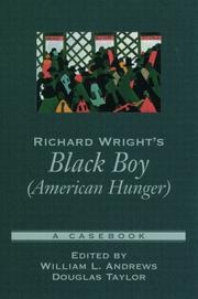 Cover of: Richard Wright's Black boy (American hunger)