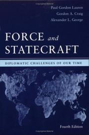 Cover of: Force and Statecraft | Gordon A. Craig