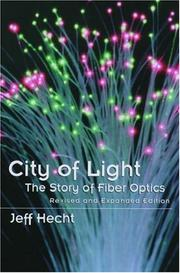 Cover of: City of light | Jeff Hecht