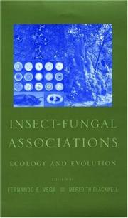 Cover of: Insect-Fungal Associations |