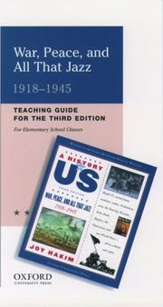 Cover of: A History of US 1918-1945. Book 9