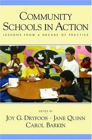 Cover of: Community Schools in Action |