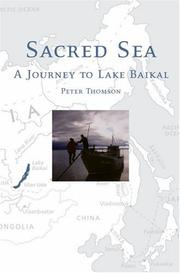 Cover of: Sacred Sea | Peter Thomson