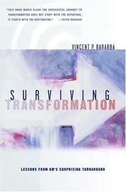 Cover of: Surviving Transformation
