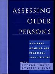 Cover of: Assessing Older Persons | Marilyn Eells