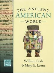 Cover of: The ancient American world