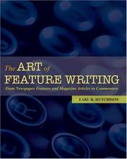 Cover of: The art of feature writing