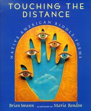 Cover of: Touching the distance | Brian Swann