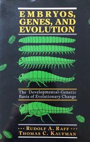 Embryos, genes, and evolution