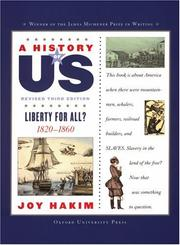 Cover of: A History of US: Book Five