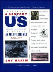 Cover of: A History of US: Book Eight