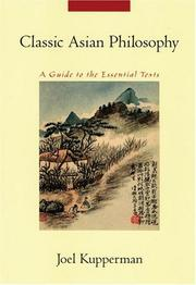Cover of: Classic Asian philosophy