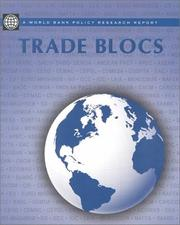 Cover of: Trade Blocs (World Bank Policy Research Report)