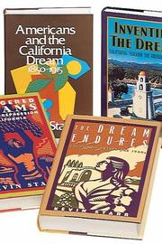 Cover of: Kevin Starr's 5-volume History of California