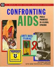 Cover of: Confronting AIDS |
