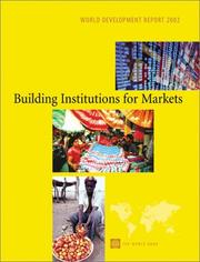 Building institutions for markets.