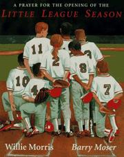 Cover of: Prayer for the Opening of the Little League Season