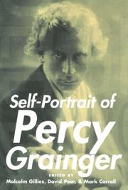 Cover of: Self-portrait of Percy Grainger