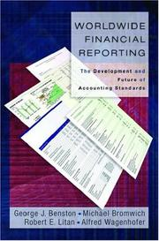 Cover of: Worldwide financial reporting