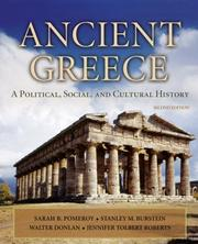 Cover of: Ancient Greece | Sarah B. Pomeroy