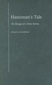 Cover of: Hanuman's Tale | Philip Lutgendorf