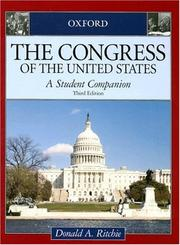 Cover of: The Congress of the United States | Donald A. Ritchie